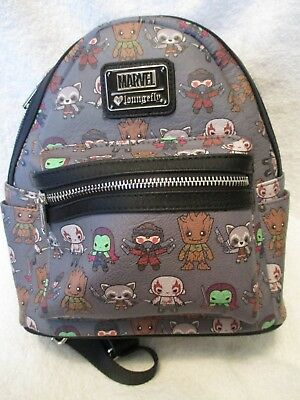47b3753f5c LOUNGEFLY X MARVEL Guardians of the Galaxy Kawaii Mini Backpack ...