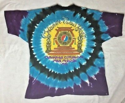 Vintage 1991 Grateful Dead Chinese New Years Rare GDM Brockum - Size Large