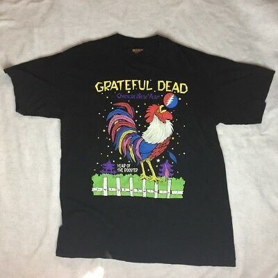 Vintage 1993 Grateful Dead Year of Rooster Tour Shirt GDM Brockum - Size Large