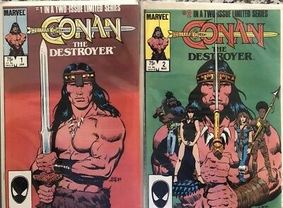 Conan The Destroyer 1 And 2