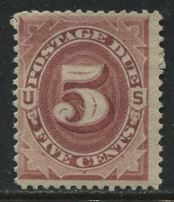 United States of America 1891 5 cents Postage Due mint o.g.
