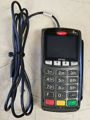 Ingenico IPP350 - POS Credit Card Pin Pad / Chip Reader / Swipe + USB Cable