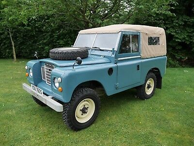 Land Rover Series 3 Petrol  swb Fully restored Galv chassis