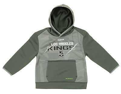 ab29554f8 Reebok NHL Kids Los Angeles Kings Center Ice Forecheck Pullover Hoodie