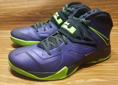 new product e9d09 44e6a Nike Lebron James Soldier 7 Court 599264-500 Mens Basketball Shoes 13