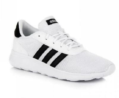 Women's ADIDAS LITE RACER White Running/Casual Sneaker Shoes DB0576 NEW