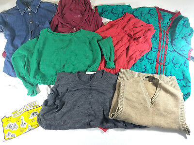 Women's Clothing Lot 8 Items Calvin Klein Gap Nicole Miller Sonoma Sz - XS,S,M