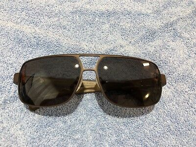 85e2cf26acf2 CHROME HEARTS Sunglasses TANK SLAPPER 64-13-141 Brown