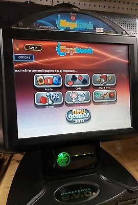 Megatouch EVO  2011.5 LCD table top / bar top touch touch screen game