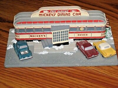 Danbury Mint Mickey's Dining Car Diner Minnesota Collectible Classic American