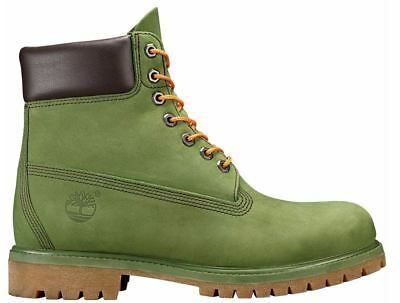 "Timberland A1M72 Men's 6"" Classic Premium Olive Green Waterproof Boots"