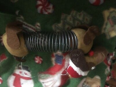 Dachshund Slinky Christmas Tree Ornament