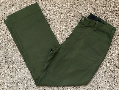 FSS Aramid Wildland Firefighter Pants Green Made in USA Size 40x34