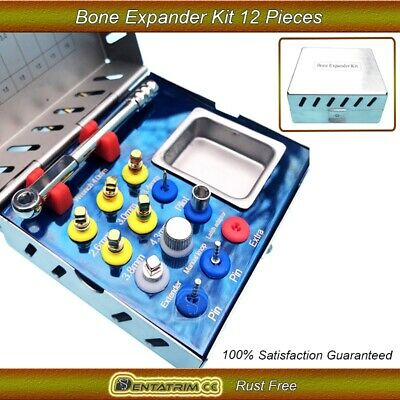 Dental Bone Expander Kit Sinus Lift 12 Pcs Implant Surgical Instruments NEW