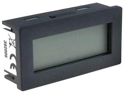 HED261-T Counter electronical Display LCD, with a backlit IP20 TRUMETER