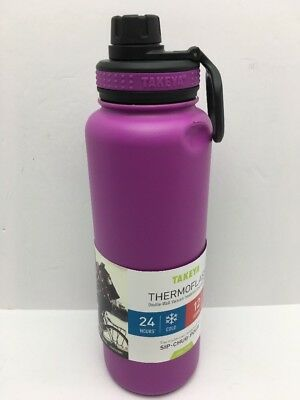 Vacuum-Insulated Stainless-Steel Water Bottle, 40oz