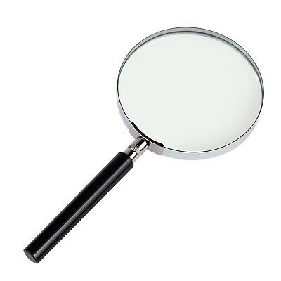 Lightweight Handheld  3X Magnifier 100mm Reading Magnifying Eye Glass Lens