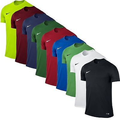 Nike Herren Fußball Sport Fitness Trainings Dri Fit Shirt Park Trikot 725891 Neu