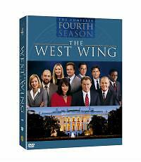 The West Wing - Series 4 (DVD, 2004, 6-Disc Set, Box Set)