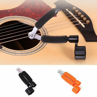 3 ways Guitar String Peg Winder Cutter+Clippers+Bridge Pin Puller for Bass New