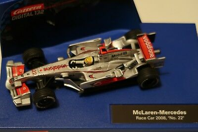 30457 carrera digital 132 mclaren-mercedes mp4/22 f1 2008 #22 ovp