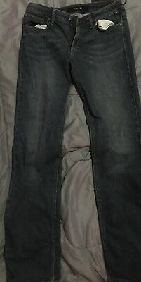 Boys Size 18 Straight+Narrow Dark Blue Jeans.never Worn.great!!
