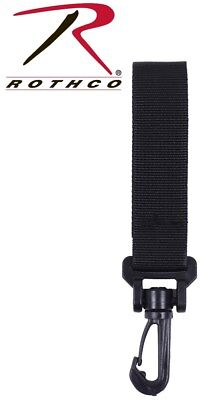 Police & Security EMT Black Duty Belt Standard Key Holder Rothco 10543