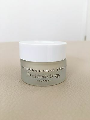 OMOROVICZA Rejuvenating Night Cream 15ml - Deluxe Travel Size *NEW*