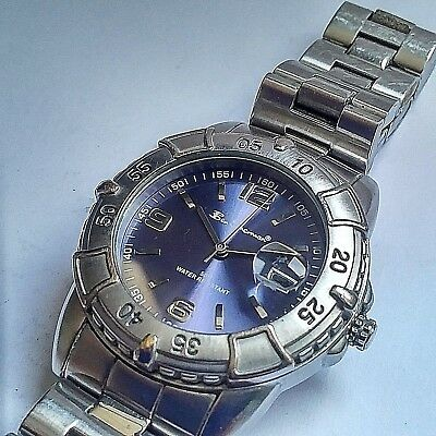 9fad06205c6 Ben Sherman Mens Watch Beautiful Watch In Superb Condition Genuine Blue   silver