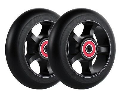 "4.5"" x 1"" caster wheels - ""Dark Star"" - TiLite-Quickie wheelchairs SHIPS FREE!"