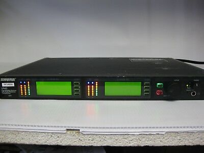 SHURE UR4D L3 Dual 2CH Channel Wireless Microphone Receiver 638-698MHz RackMount