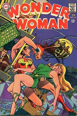 Wonder Woman  #173 Dc Comic Book Nov-Dec 1967 (See Scans For Condition)