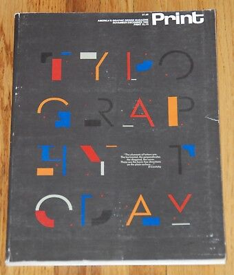 Print: America's Graphic Design Magazine Print XL:VI Nov/Dec 1986