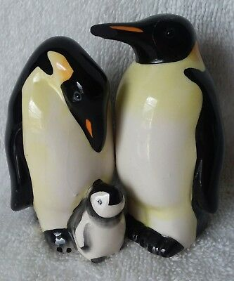 Penguin Family Magnetic Salt & Pepper Shakers Made By Westland