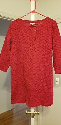 16b1283f8c Talbots Cover Up Dress Casual Beach Pool Vacation S M 40