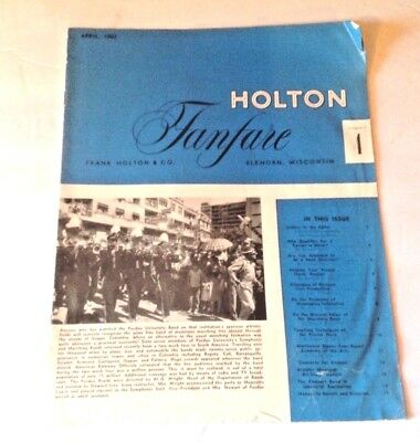 HOLTON Fanfare music Magazine Vol. 5