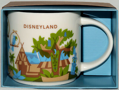 Disneyland Exclusive Starbucks You Are Here 3rd Edition Mug 2018 Adventureland