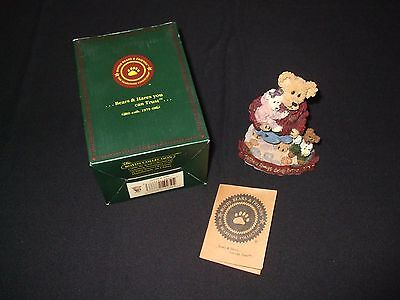 Boyds Bears Figurines, Mother Macaberry W/krista, Cody #227737