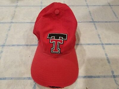 competitive price 325fa 3938f ... coupon code for vintage texas tech red raiders pro player strapback  deadstock cap hat 90s b64fe