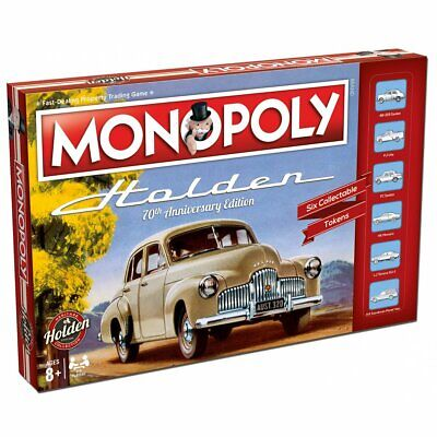 Holden Heritage Monopoly Board Game