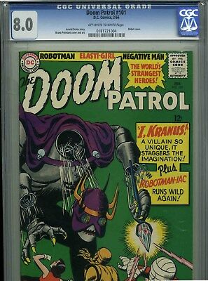 The Doom Patrol #101 - February,1966 - CGC 8.0 (Robot Cover)