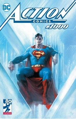 Action Comics 1000 Gabriele Dell Otto Bulletproof Variant Nm