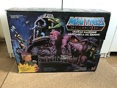 Masters Of The Universe Snake Mountain OVP