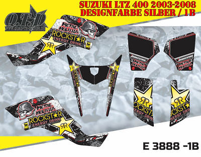 Motostyle-Mx Dekor Kit Atv Suzuki Ltz 400 2003-2008 Graphic Kit E3888 B