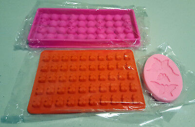 Silicone Mould Set #3B for soap making, cake, jelly, bread, chocolate, fimo.  AU
