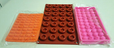 Silicone Mould Set #3C for soap making, cake, jelly, bread, chocolate, fimo.  AU