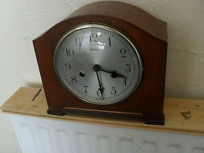 Bentima Art Deco Striking Mantle Clock
