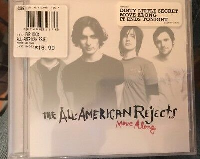 The All-American Rejects Move Along CD NEW Jul-2005 Interscope USA