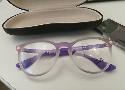 Occhiali donna (bisex) RAY-BAN in resina color violetto.