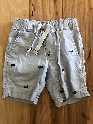 Carters Toddler Boys shorts grey 3T whales